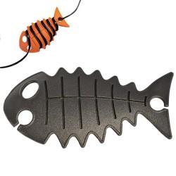 snoeren opbergen met cable fish zwart