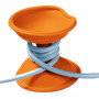 cable turtle oranje open
