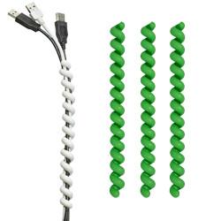 Cable Twister set à 3 stuks groen