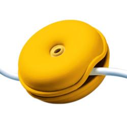 snoerwinder Cable Turtle donker geel