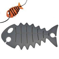 snoeren opbergen met Cable Fish | kleur antraciet