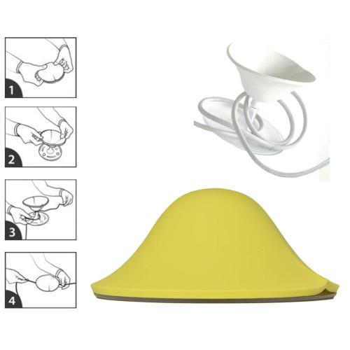 snoerwinder cable kiss geel