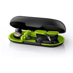Dotz oordopjes houder Neon zwart /groen