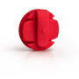 earbud wrap rood achterkant