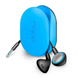 Dotz oordopjes organizer flexibel blauw