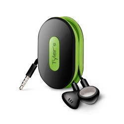 Dotz Wrap ID oordopjes organizer zwart/groen