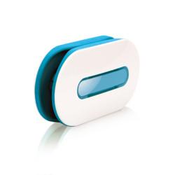 Dotz snoeren organizer Wrap ID wit/blauw