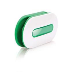 Dotz snoeren organizer Wrap ID wit/ groen