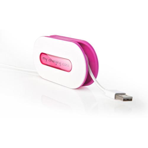 Wrap ID cord wrap wit/ roze