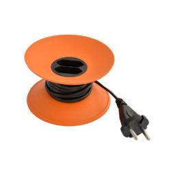 cable disk verlengsnoer oranje