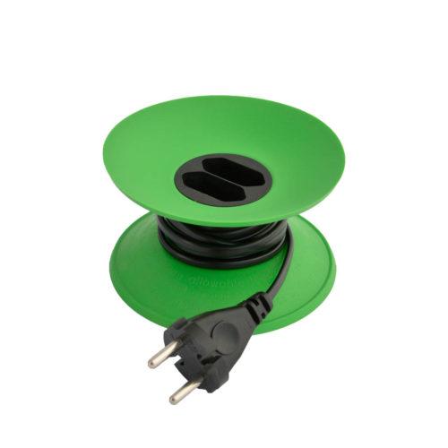 cable disk verlengsnoer groen