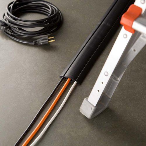 Cord protector kabelbeschermer zwart 1,50 m