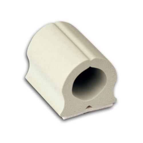 D-wings kabelgeleider klein crème wit 12 stuks