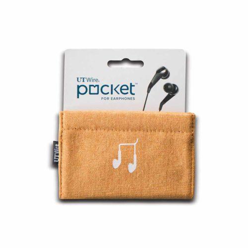 pbergzakje voor oordopjes oranje is een handig zakje voor het bewaren of meenemen van je oordopjes. Zo zijn je oortjes georganiseerd en beschermt!