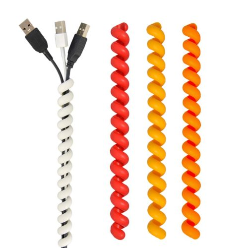 Cable Twister set rood /geel/ oranje