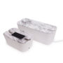 Bosign cable box marble M en XL